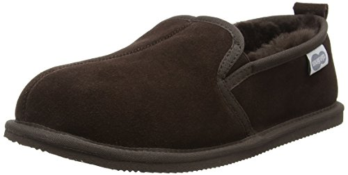 Snugrugs Herren Sheepskin with Lightweight Sole Hausschuhe Braun (Braun)
