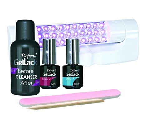 Depend GelLack - Kit básico de esmalte permanente