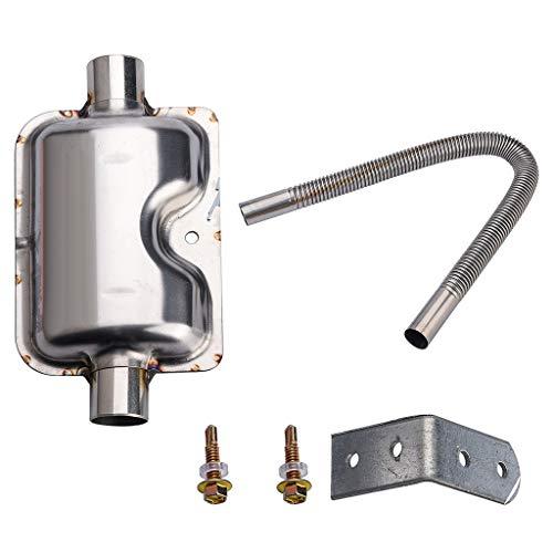 Preisvergleich Produktbild TianranRT Auspuff System Heizung Auspuff Schalldämpfer Schalldämpfer Rohr & Auspuff Rohr 12V / 24V 22 / 24mm