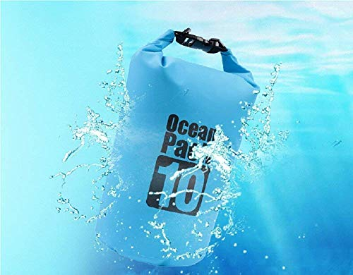 Supreme Mall (Label) Waterproof Fabric PVC 10 Litter Dry Bag for Out of doors, Sports activities, Swimming and Camping (Multi) Image 7