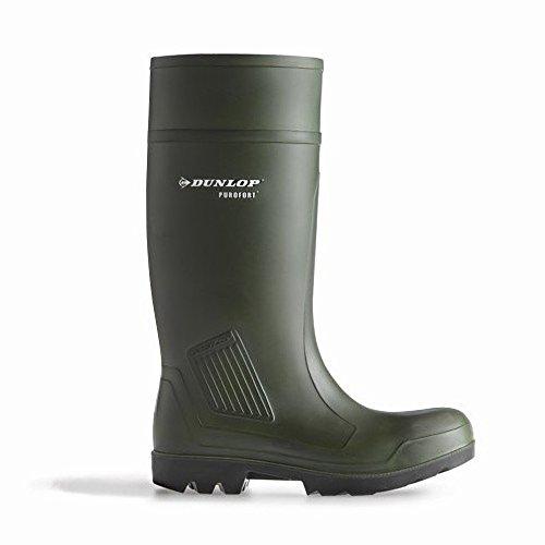 Dunlop Purofort D460933 - Bottes en caoutchouc - Homme Vert