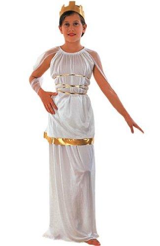 Costume da dea greca per bambina 10/12 anni (140/152)