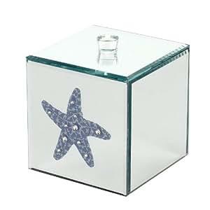 Salco Nautical Boîte à bijoux avec effet miroir