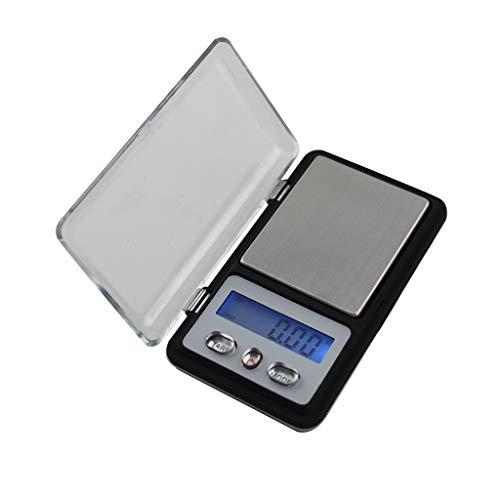 CX-333 Mini Tragbar Tasche Elektronische Waage Präzision Digitalwaagen für Goldschmuck,Tee,Chinesische Kräutermedizin wiegen Präzision 0,01g