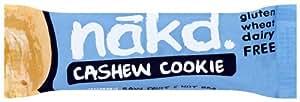 Nakd Cashew Cookie Bar 35 g (Pack of 18)