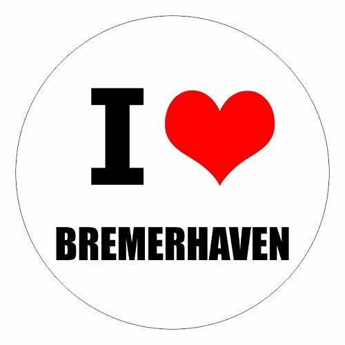I love Bremerhaven in zwei Größen erhältlich Aufkleber mehrfarbig JDM Decal Sticker Racing