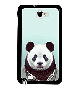 Fuson Cute Balu Dress Up Designer Back Case Cover for Samsung Galaxy Note N7000 :: Samsung Galaxy Note I9220 :: Samsung Galaxy Note 1 :: Samsung Galaxy Note Gt-N7000 (Abstact Art Paint Painting Illustrations)