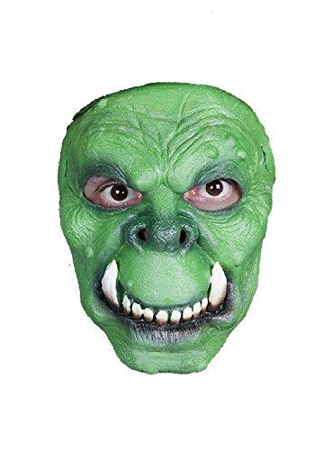 Kinder Ork Kostüm - Kreatur Maske des Grauens zum Ork Monster Kostüm Halloween