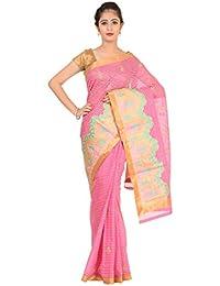 Paheli Cotton Saree (Paheli007_Pink)