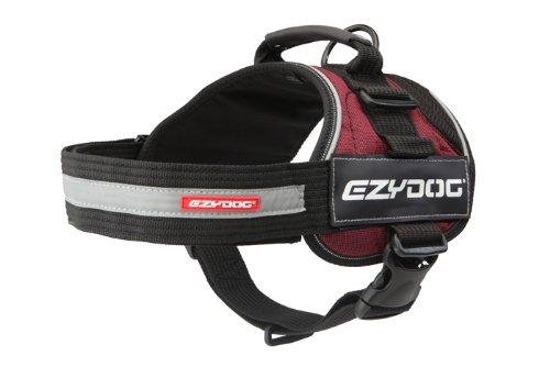 ezydog-convert-harness-2x-small-burgundy