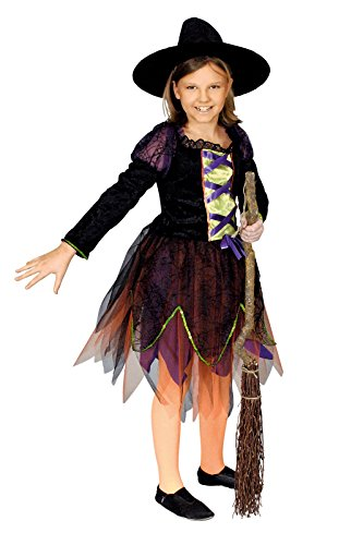 Hexe Lia Kostüm Kinder Gr. 98 (Süße Kinder Kostüme Hexe)