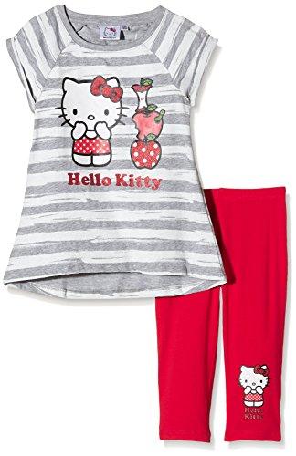 hello-kitty-girls-apple-short-sleeve-crew-neck-clothing-set-multicoloured-grey-fushia-10-years