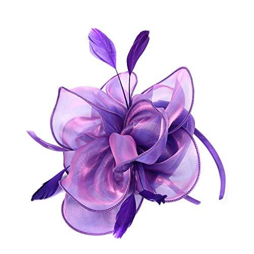 EERTX - ♛♛ Damen Flapper Stirnbänder 1920er Jahre Pfau Stirnband Kopfbedeckung Flapper Stirnband Kopfschmuck Floral Flower Garland Stirnband Vintage-Wunderschön Stirnband für Braut Feder Stirnband - City Schwarz Star Hose