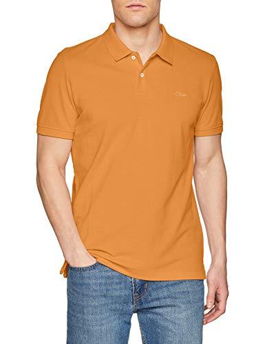 Gelb L/s Shirt (s.Oliver Herren 03.899.35 Poloshirt, Gelb (Roasted Turmeric 2246), Large)