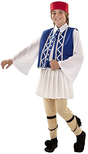 Imagen de disfraz de griego sirtaki para niños de 10 a 12 años