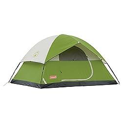 Coleman Sundome 4-Person Tent, 9 feet x 7 feet (Green)