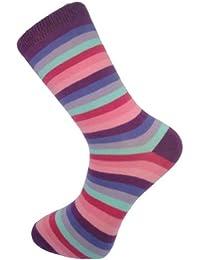 Mysocks® Bunte streifen und entwurf unisex Socken mit Feinsten Gekämmt Baumwolle