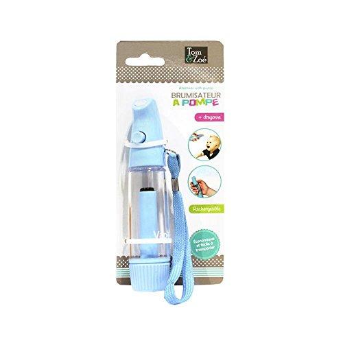 Brumisateur à Pompe Vaporisateur de poche en plastique Rechargeable Economique Bleu
