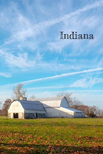 Indiana: Notebook. Diary. Journal. Blank Lined Paper. 120 pages (united states, Band 14)