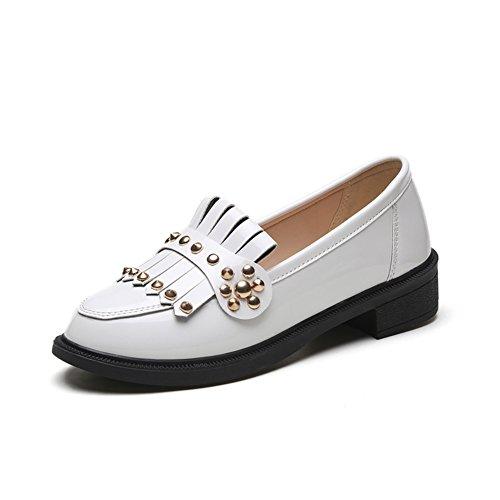 Printemps Lady Joker tassel chaussures de mode/loisirs coréen plat chaussures femme A