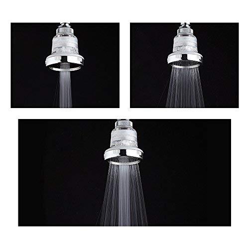 Lvcky 1 Stück Wandhalterung Regenduschkopf Ersatz Abnehmbar 3-Set-Hochdruck-Wassersparend Badezimmer