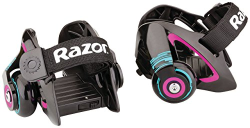 Razor Sneaker Rollen Jetts Heel Wheels, Violett, Multi, 0845423016012