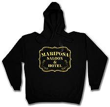 Urban Backwoods Mariposa Saloon & Hotel Hoodie Hooded Sweatshirt Sweater Sweat - Sizes S - 2XL