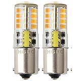 12V AC/DC LED Maisbirne wasserdichtes Birne, 5W Warmweiße 3000K 500LM für Outdoor-Landschaft Beleuchtung, etc. (2-Pack )