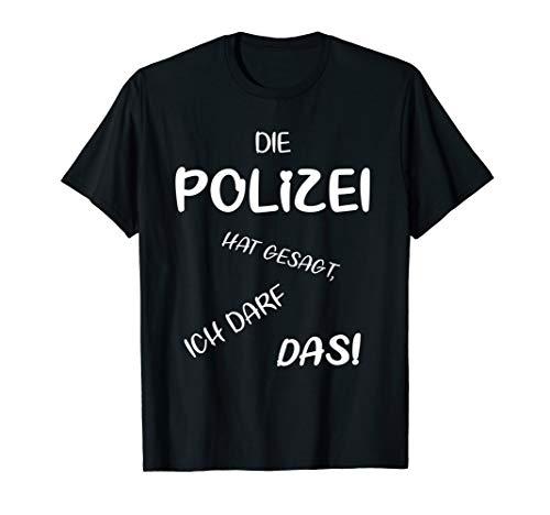 Kostüm Polizei Damen Shirt - Polizei Fasching, Karneval T-Shirt & Kostüm, Herren, Damen