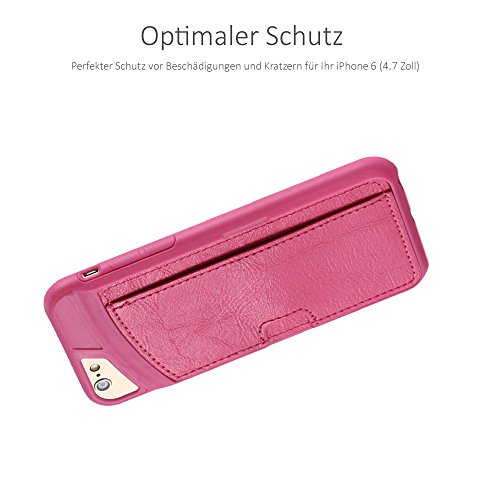 """Pink Case für iPhone 6 6S 6-S 4,7"""" Zoll - Schutzhülle Backcase Backcover Hülle Pink"""