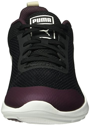 Puma Trax Core, Baskets Basses Femme Noir - Schwarz (puma Black-Birch-Winetasting 02)