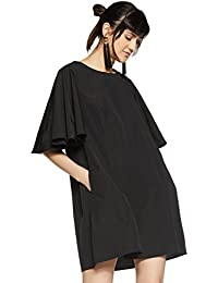 VERO MODA Women's A-Line Knee-Long Dress