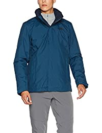 THE NORTH FACE t0cg53, Evolution II Triclimate Chaqueta Hombre, Hombre, T0CG53, BLU Monterey, XL