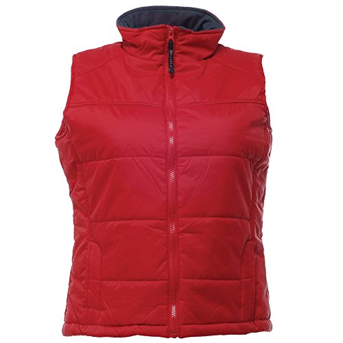 Regatta Stage Ladies Casual Thermoguard Insulation Padded Bodywarmer Gilet Classic Red