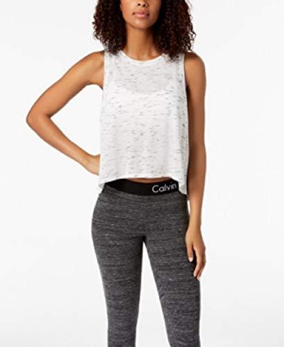 Calvin Klein Women's Performance Epic Knit High-Low Tank Top