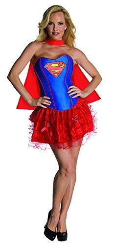 (Generique - Heißes Supergirl-Kostüm für Damen M)