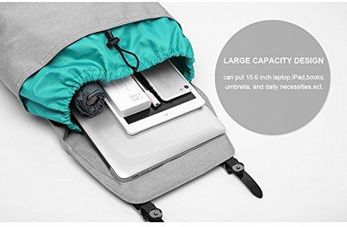 """MOCA Canvas 15.6"""" Black Laptop Backpack Image 5"""