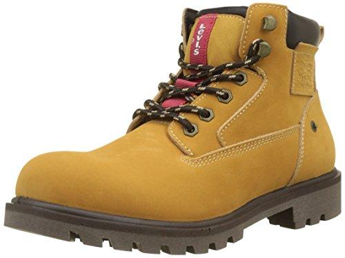 Levi's Hodges, Botas Militares para Hombre, Amarillo Boots 74, 42 EU