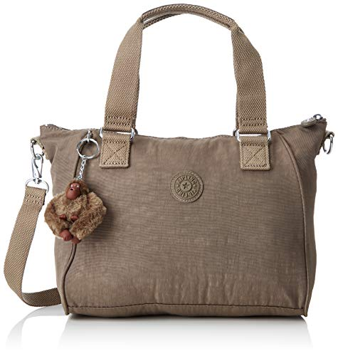Kipling Amiel, Women's Cross-body Bag, Brown (True Beige), 15x24x45 Cm (W X H X L)