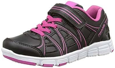Kappa Ulaker, Chaussures de Running Entrainement fille, Noir (C32/Black/Fushia), 33 EU