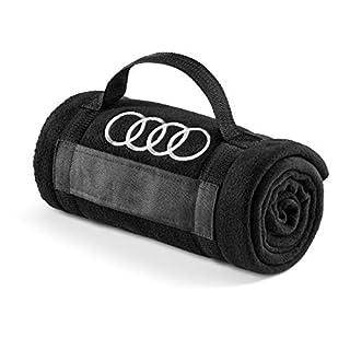 Audi 3291700800 Fleecedecke schwarz