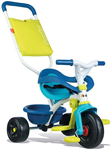 Smoby 740405 - Tricycle Evolutif Be Fun Confort - Bleu