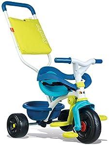 Triciclo Be Fun Confort azul con bolso y volquete (Smoby 740405)