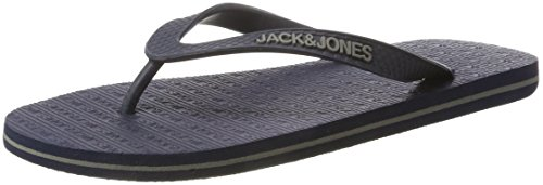 JACK & JONES Herren Jfwbasic Flip Flop Pack 2 Zehentrenner Blau (Navy Blazer)