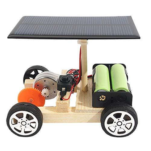 Homyl Experimentos Creativos Materiales Kit de Juguete de Coche de Energía Solar