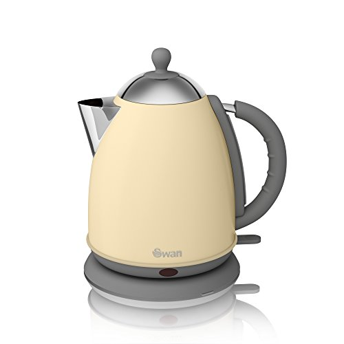 41oQZYuY1VL - BEST BUY #1 Swan SK261050CN Jug Kettle - 1.7 L, Cream Reviews and price compare uk