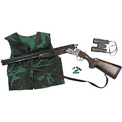 Gonher Escopeta caza con chaleco y cantimplora (617/0)