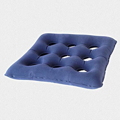 Cyt Aufblasbares Wildleder-Kissen mit neun Löchern Altes Wundpflaster Platz-Aufblasbares Kissen Anti-Dekubitus-Kissen