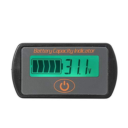 JINXL 7.4V-56V Li-Ionen-Batterie-Kapazität Meter Tester Spannungsanzeige LCD-Monitor Werkzeugvermessung neu (Color : H)