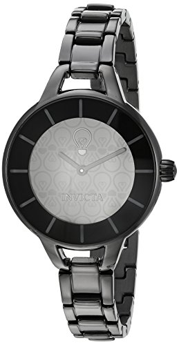 Invicta Womens Analog Quartz Watch with Stainless-Steel Strap 22915